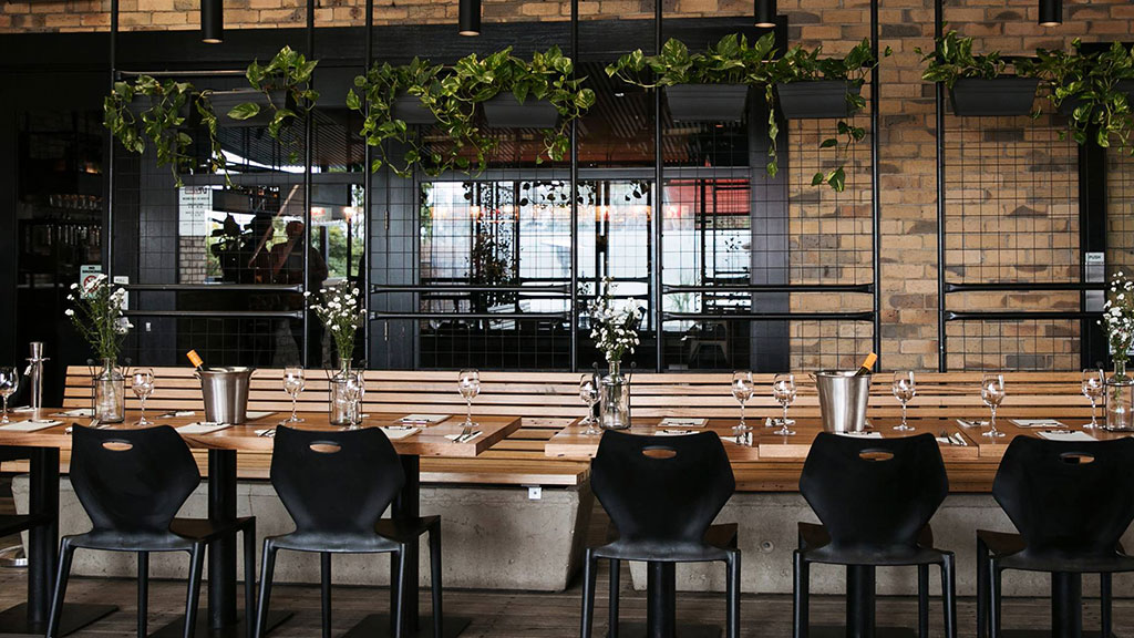 Commercial hospitality fitouts Melbourne recycled timber interior design melbourne timber revival australian venue