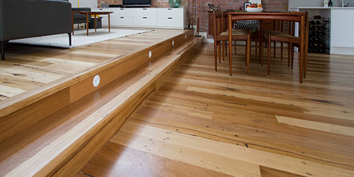 recycled timber melbourne, timber flooring melbourne, reclaimed flooring victoria geelong bespoke custom installation, feature grade timber flooring