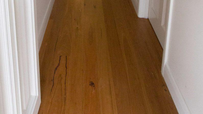 New Blackbutt flooring