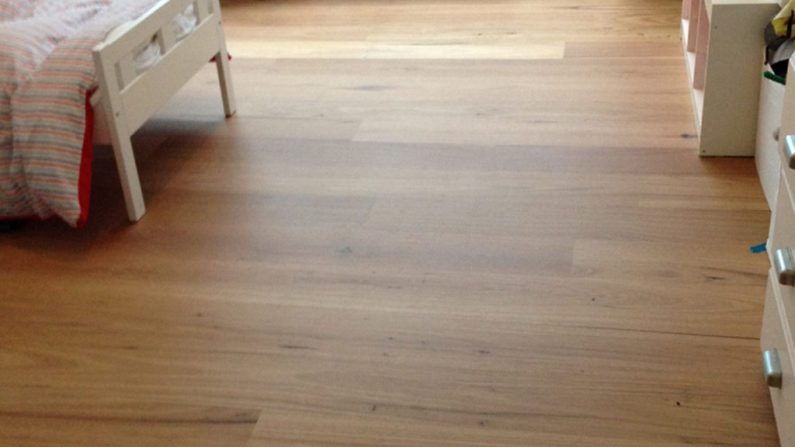New Blackbutt flooring