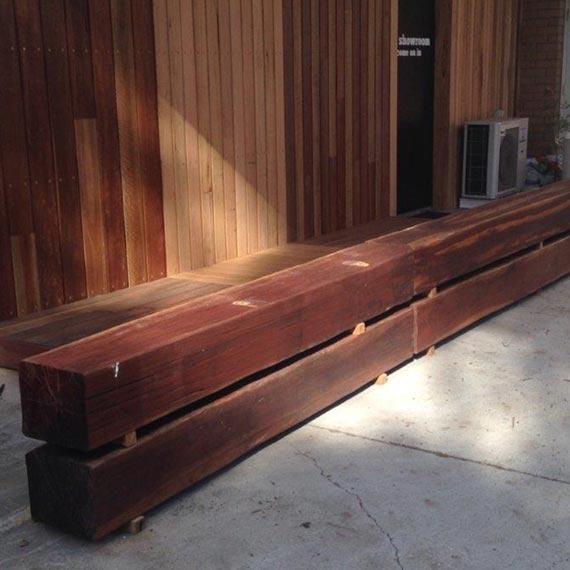 recycled ironbark posts melbourne victoria australia
