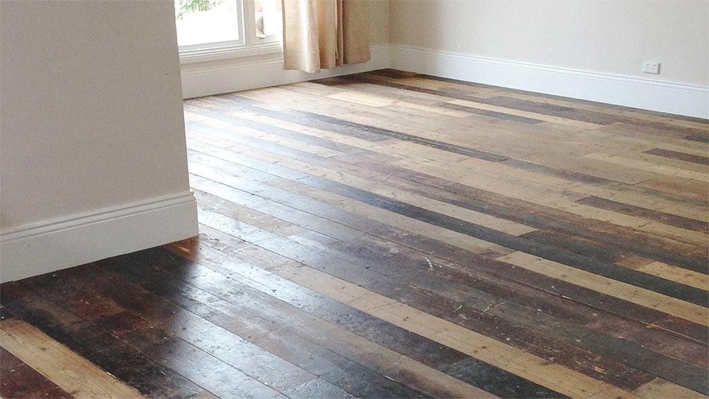 Reclaimed Baltic Pine flooring