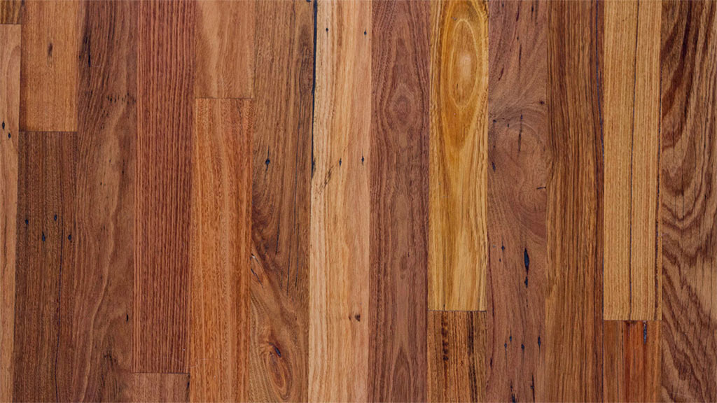 Mixed Victorian hardwood tonal variations