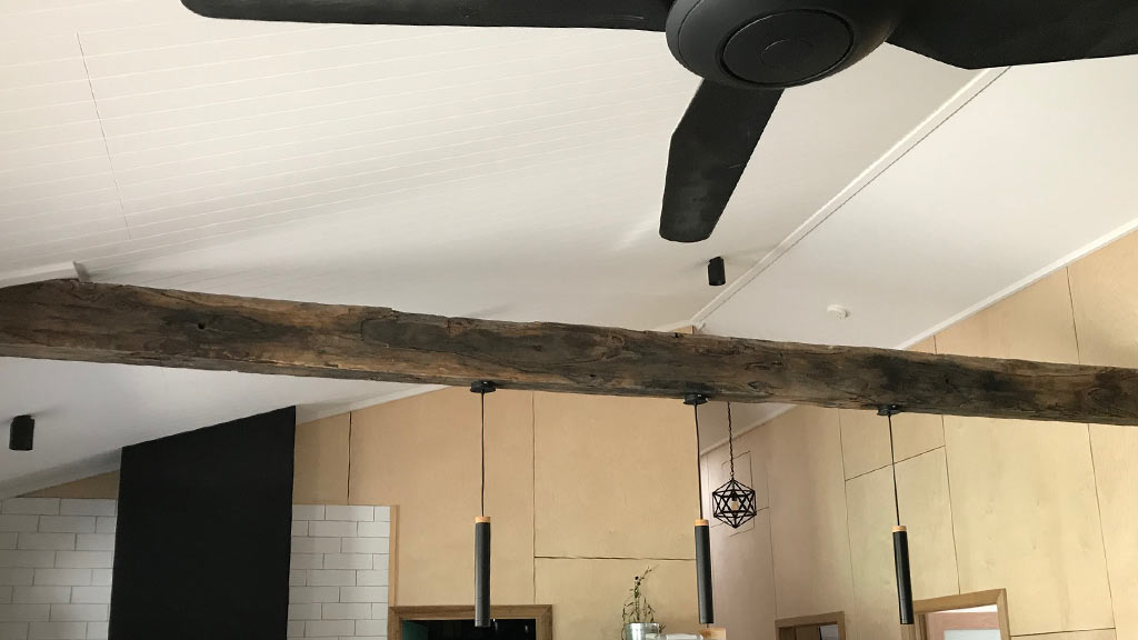 Recycled timber beam