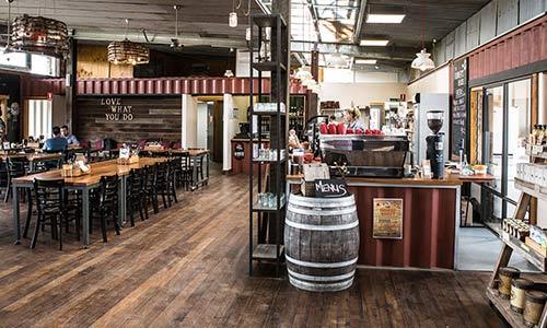 Reclaimed Tasmanian Oak flooring flooring installation melbourne – Hospitality venue