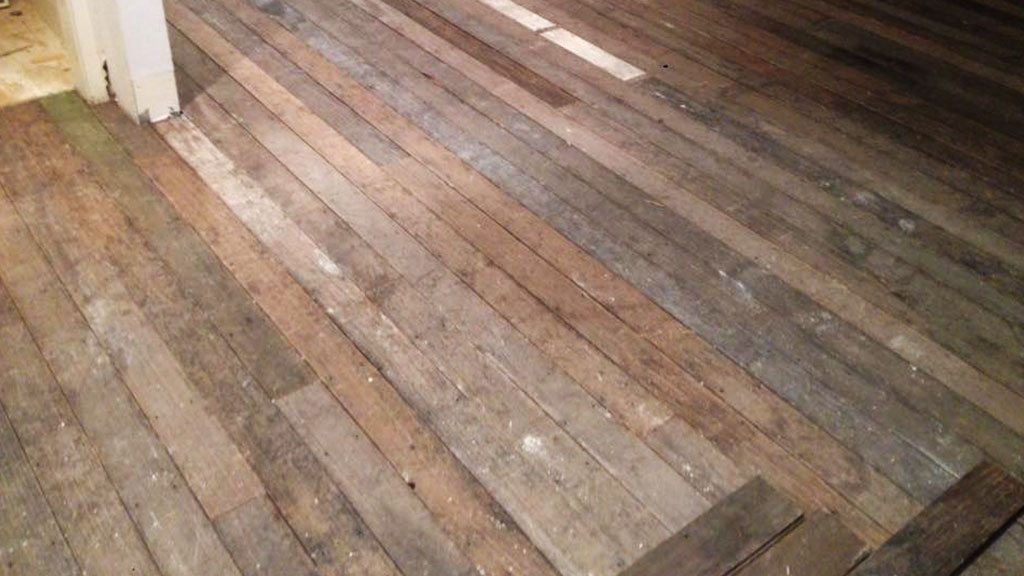 Reclaimed Tasmanian Oak flooring