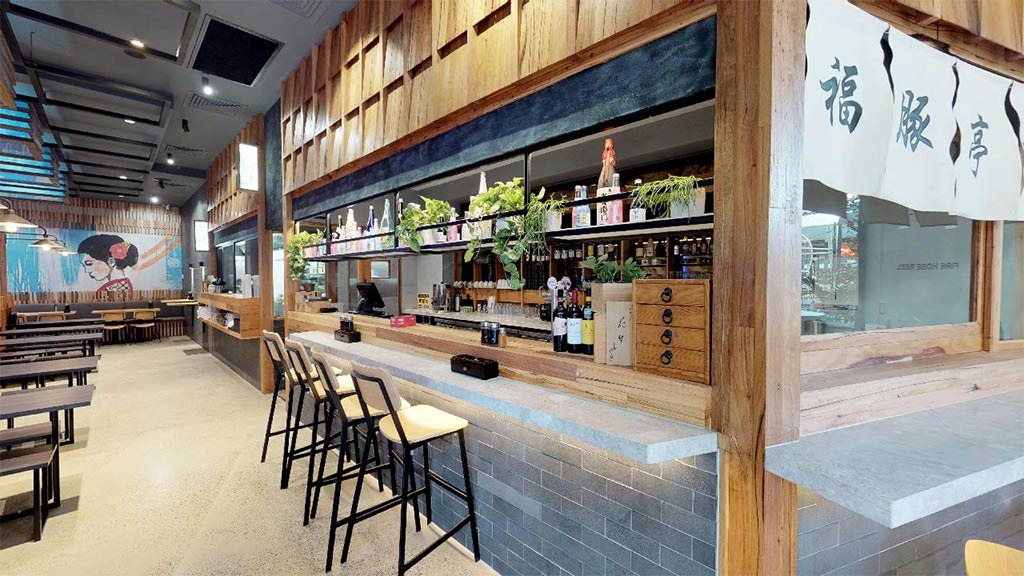 restaurant commercial fitout victoria melbourne recycled timber