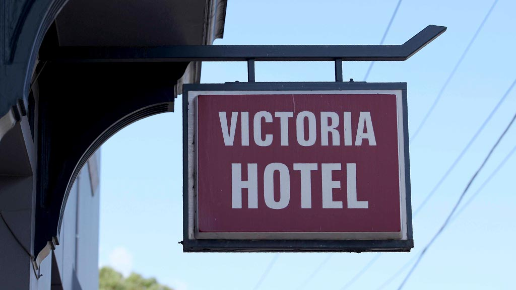 Recycled timber renovations at Victoria Hotel Footscray