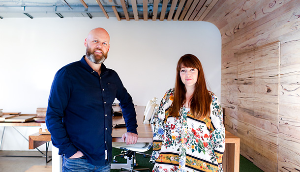 Aaron McKirdy and Bree Anastasi, Directors at Timber Revival
