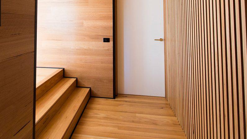 new timber flooring installation