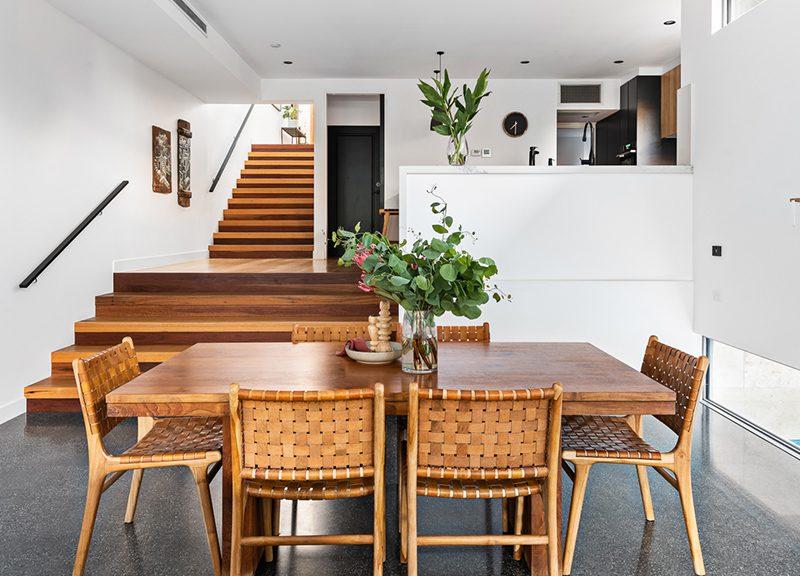 Moonee ponds luxury home timber flooring treads vanities