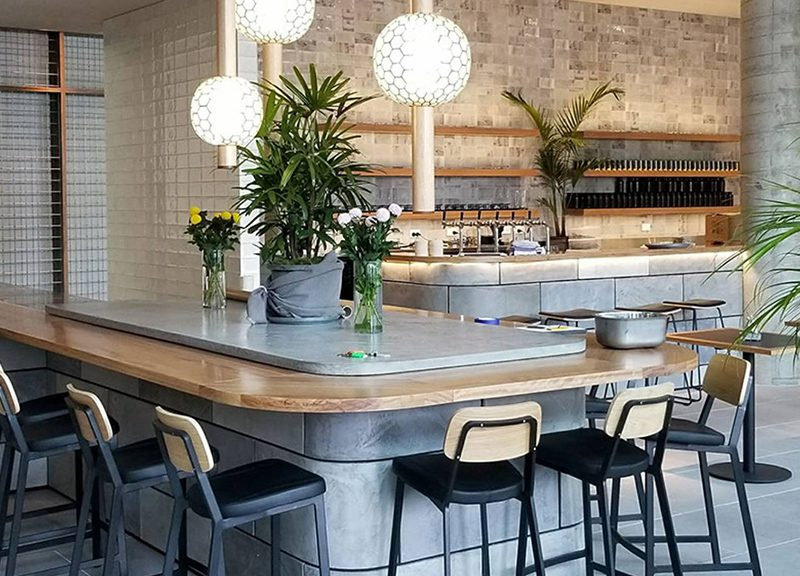Abacus All Day Restaurant Fitout - Timber Concrete